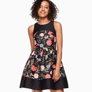 Kate Spade Blossom Mikado Dress